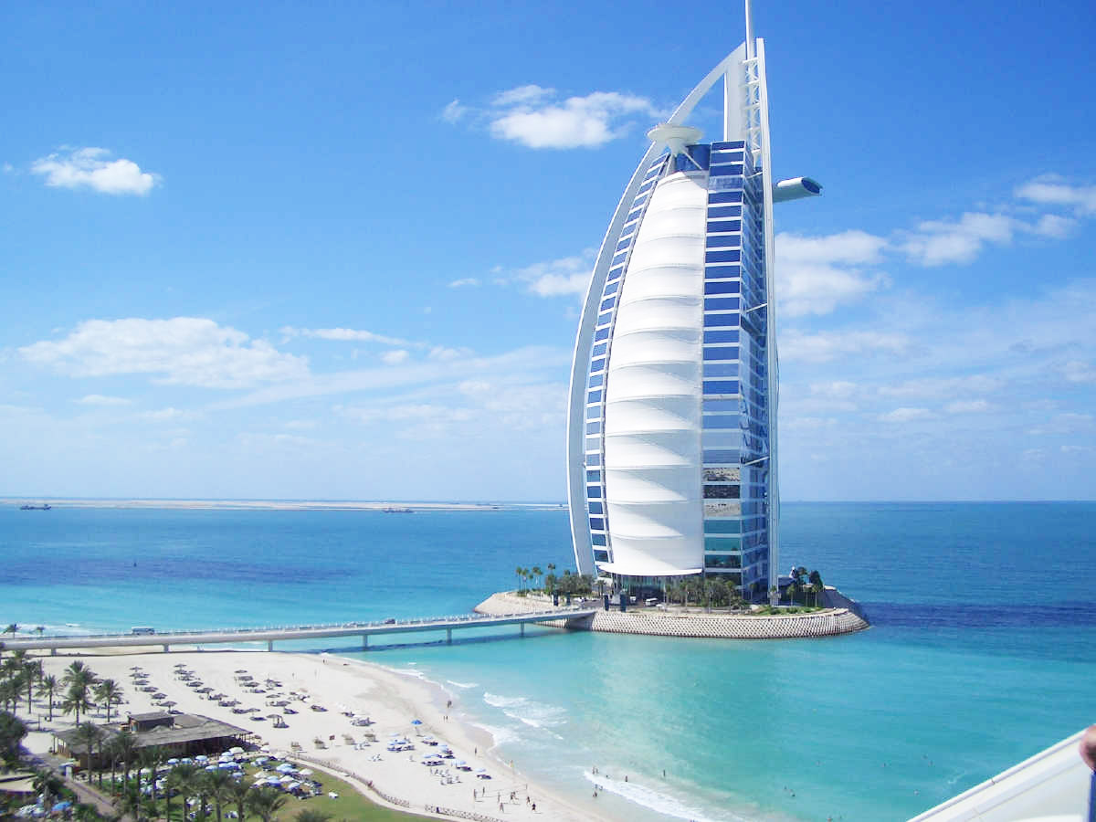 O hotel mais luxuoso do mundo for Hotel em dubai